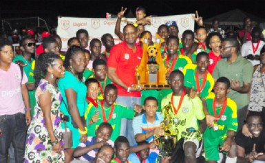 REPEAT CHAMPS!Two time consecutive Digicel National U18 champions Wismar/Christianburg Secondary
