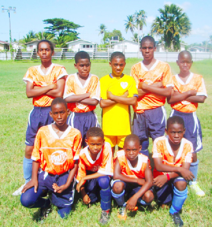 U13 League Champions Fruta Conquerors FC.