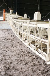 The scratcher that required additional work after it was found to still be giving problems due to a cut wire. The scratcher is responsible for feeding bagasse, the fibrous byproduct after grinding cane, through system.