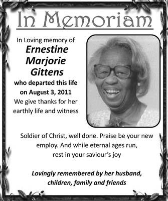 Ernestine Gittens