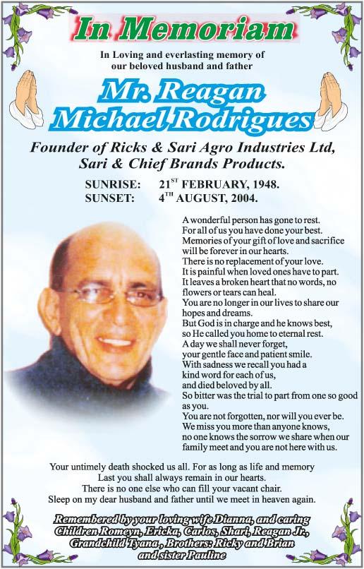 Reagan Rodrigues