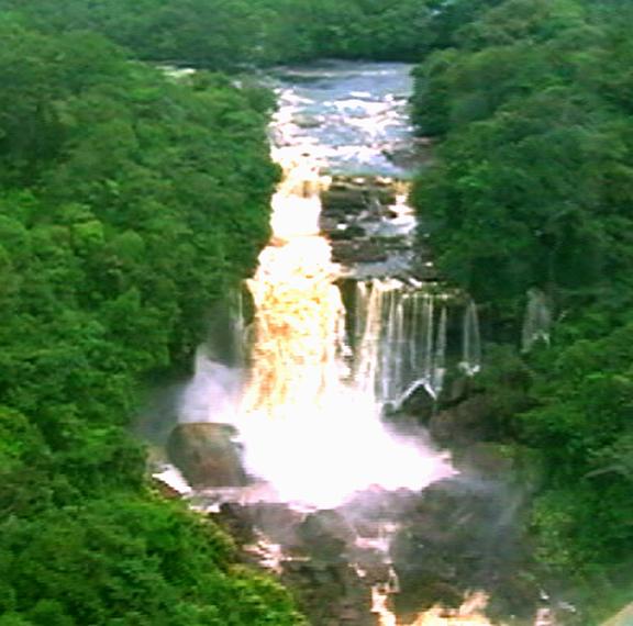 The Amaila Falls (GINA photo)