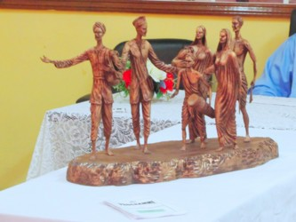 The Model of the 5th of May, Indian Arrival Monument (GINA photo)