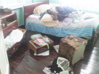 The Ransacked room