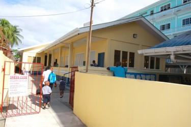 The rebuilt East Street Nursery School