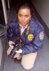 Playing a CSI Tech on Law & Order: SVU