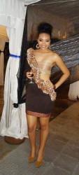Timeka Marshall wears ShaSha at  the Barbados Music Awards 2011