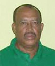Berbice Coach Hubern Evans