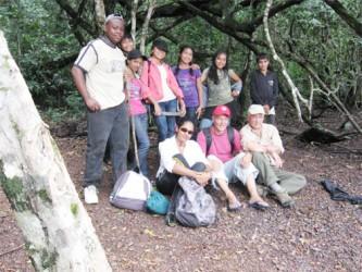Denis Williams Summer Archaeological Field School, Karanambu, Rupununi