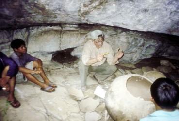 Rockshelter burial near Shulinab, Rupununi