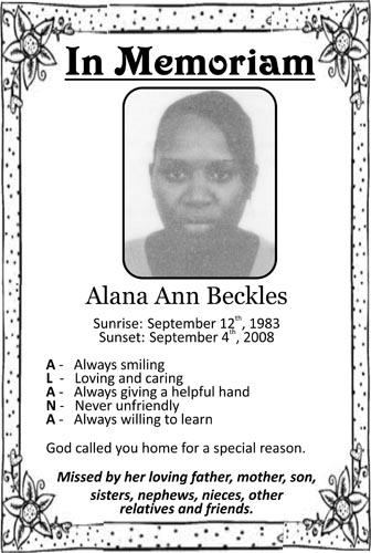 Alana Beckles