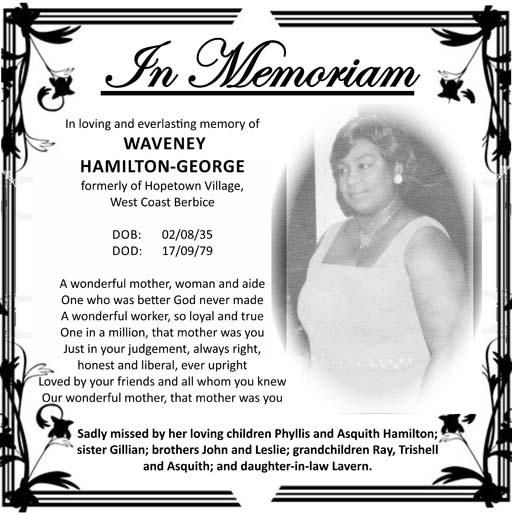 Waveney Hamilton-George