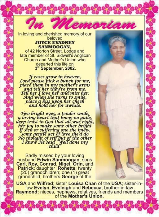 Joyce Sanmogan