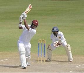 The Guyanese batsman missed his century by nine runs