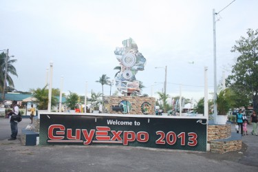 The GuyExpo entrance.