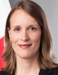 Canadian High Commissioner to Guyana Dr Nicole Giles