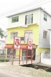 Recently a small Kissoon's Furniture popped back up along North Road. The current showroom is a far cry from the large building at Camp and Robb streets that housed the various furniture items since the 1950s.