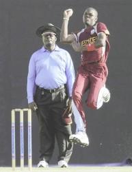 West Indies U19 pacer Alzarri Joseph was destructive in the first One Day International on Monday against Bangladesh.