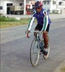 Fazam in his cycling days