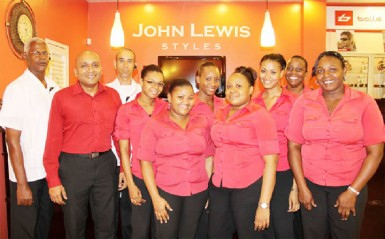 The staff of John Lewis Styles