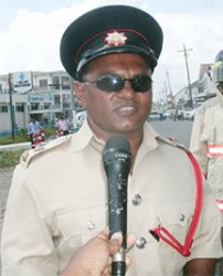 Station Officer, 2nd in Command 'B' Division, Kalamodeen Edo