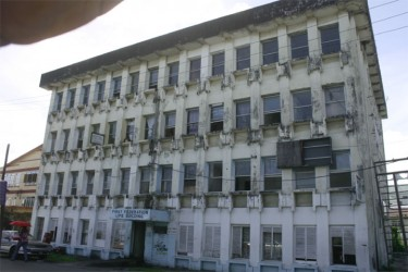 The First Federation building.