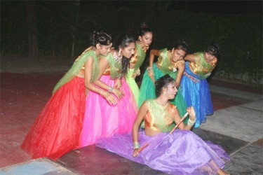 A performance at the launch of GFW
