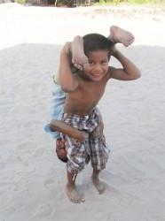 Strongest kid in Isseneru?