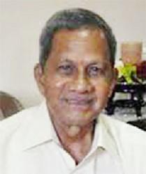 Former National Assembly Clerk  Frank Narain