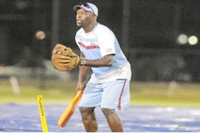 """Ottis Gibson: """"When you look at the way the pitches around the world now, they are not as fast as it used to be"""""""
