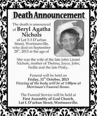 Beryl Nichols