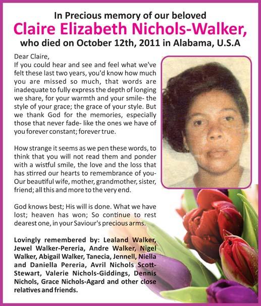 Claire Nichols - Walker
