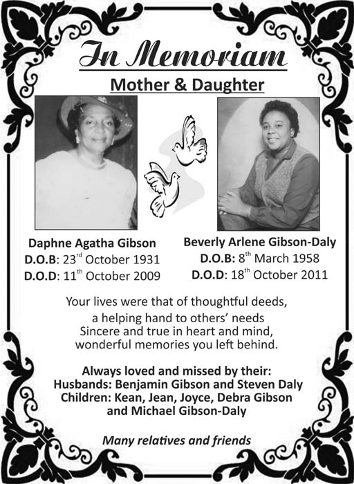 Daphne Gibson & Beverly Gibson-Daly