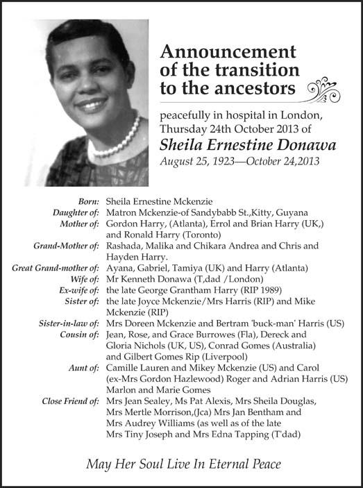 Sheila Donawa