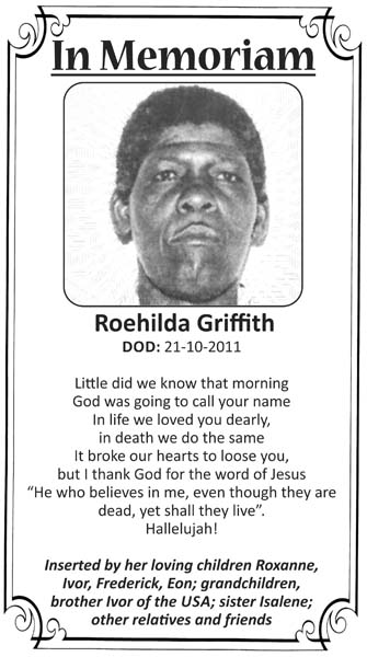 Roehilda Griffith