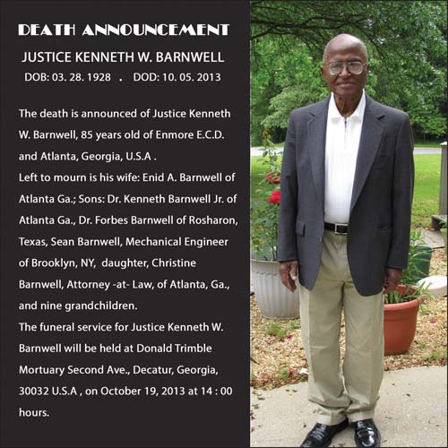 Justice Kenneth Barnwell