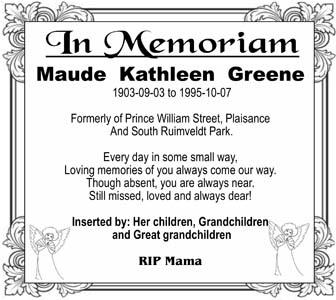 Maude Greene