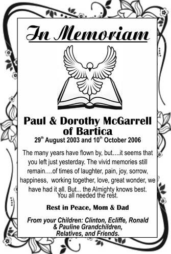 Paul & Dorothy McGarrell