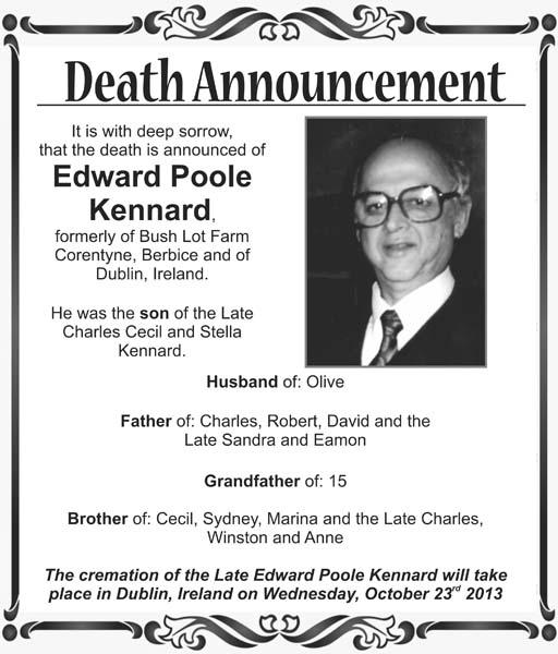 Edward Kennard