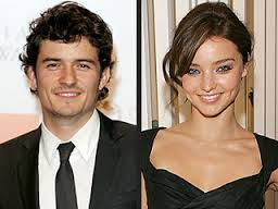 Orlando Bloom and Miranda Kerr