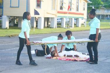 CID team completing the task