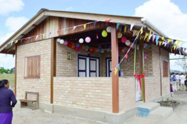 One of the new houses in Region Nine (GINA photo)