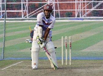 Shivnarine Chanderpaul will be playing his 150th Test match today.