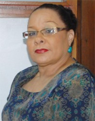Fashion designer and Guyana Fashion Council Public Relations Officer Andrea Braithwaite
