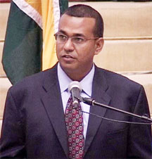 Natural Resources and Environment Minister Robert Persaud
