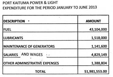 20131111port kaituma power