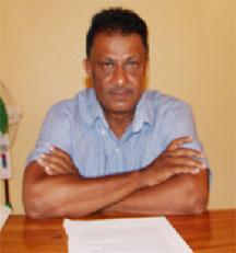 Corentyne Chamber of Commerce President Krishnanand Jaichand