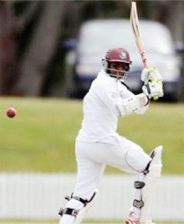 Shivnarine Chanderpaul struck early form to reach his 89 in just 106 balls hitting eight fours and a six.