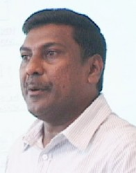 Chief Medical Officer Dr Shamdeo Persaud