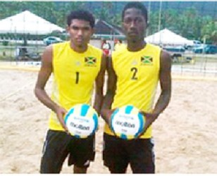 Rojey Hutchinson and Shavar Bryan ( picture courtesy Gleaner)